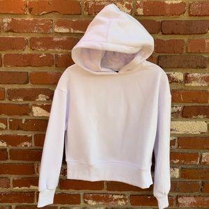 Tops - Semi-cropped Hoodie White S